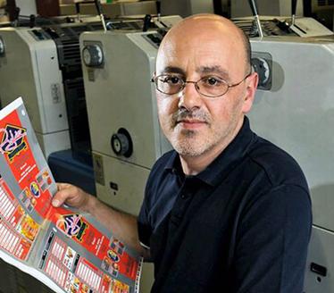 Claudio Apollonio, Director of The Appleyard Press Ltd
