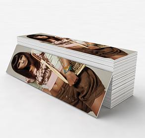 Laminated bookmarks