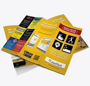 Standard folded leaflets