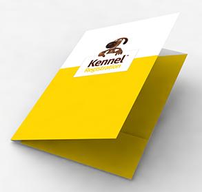 Gloss laminated folders
