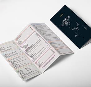 Standard menus